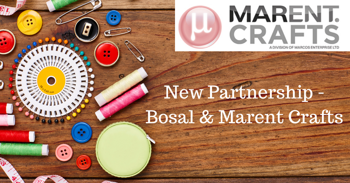 New Partnership - Bosal & Marent Crafts